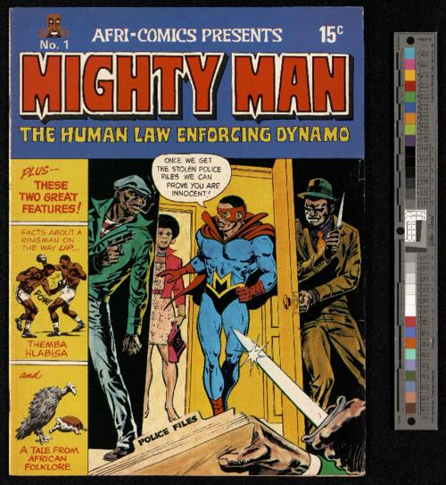Mighty Man, No 1 cover