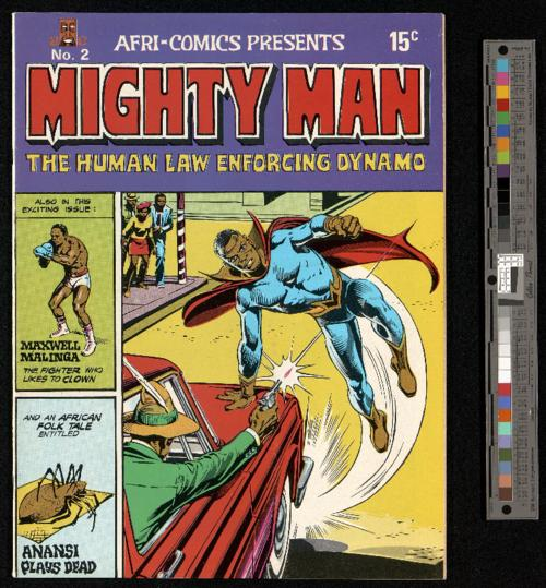 Mighty Man, No 2 cover