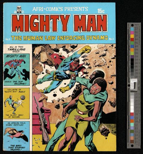 Mighty Man, No 3 cover