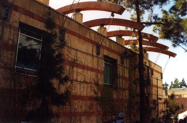 Ackerman Student Union side exterior snapshot, 2001