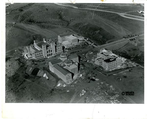 Aerial view of Westwood campus, 1928