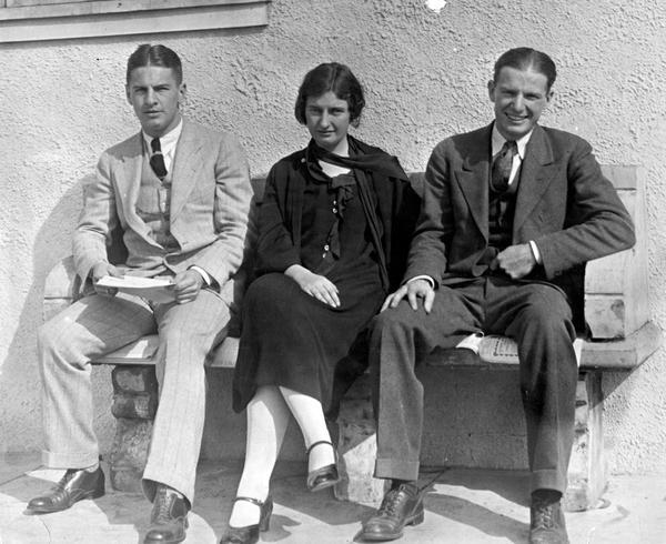 Three founding members of University of California, Los Angeles Alumni Association