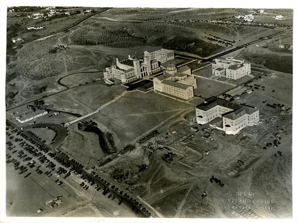 Aerial view of Westwood campus, November 22, 1929