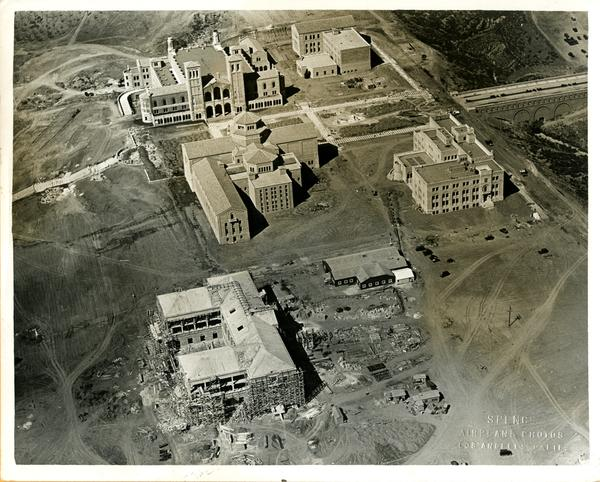 Aerial view of Westwood campus, September 14, 1929