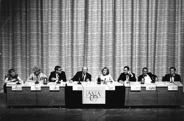 Panel at the ANTA National Convention, 1966