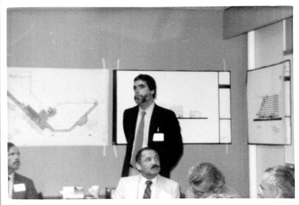Speaker at the Design Seminar for School of Architecture, 1982
