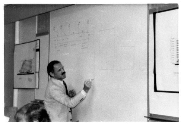 Presenter at the Design Seminar for the School of Architecture, 1982
