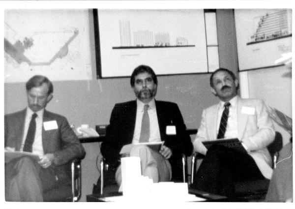 Participants in the Design Seminar for School of Architecture, 1982