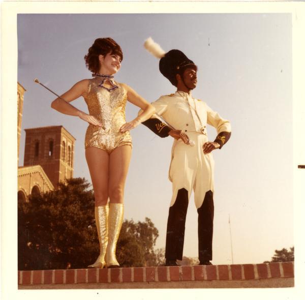 Drum major and golden girl, 1971