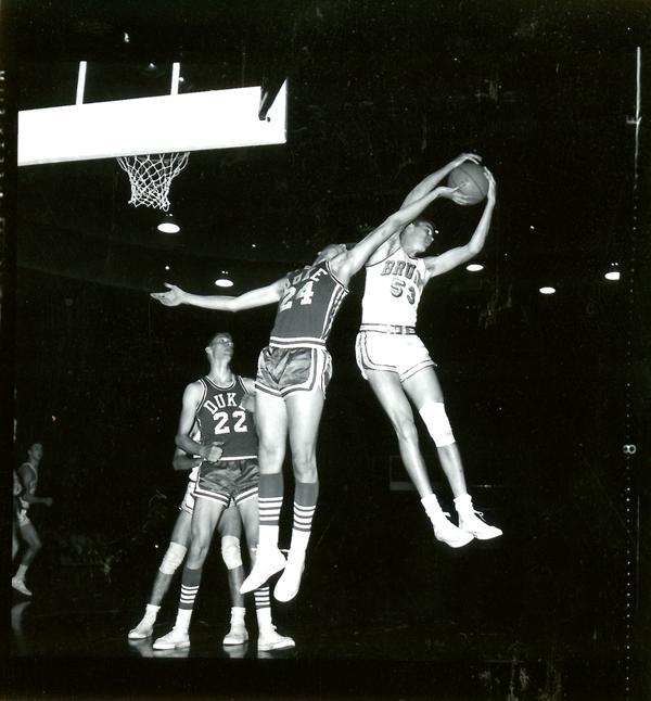 Keith Erickson in NCAA championship game versus Duke, 1964