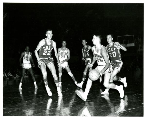 NCAA championship game versus Duke, 1964