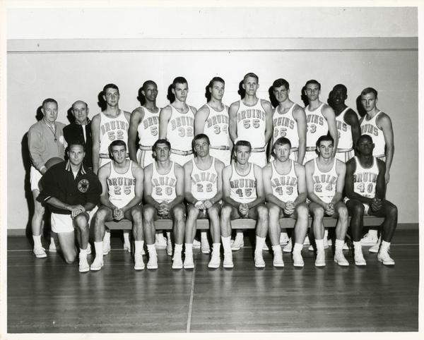 Basketball team portrait, 1964-1965