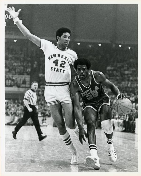 Sidney Wicks in NCAA championship game versus New Mexico State, College Park, Maryland 1970