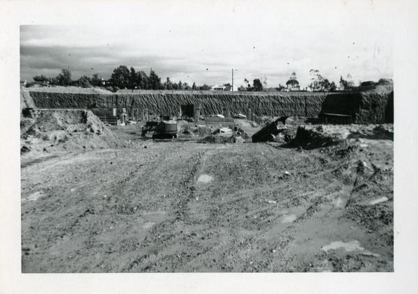 Boelter Hall construction site, January 1952