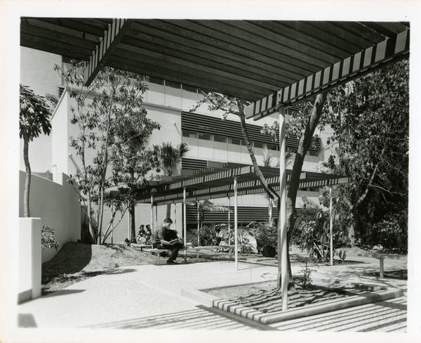 View of Botany Building courtyard