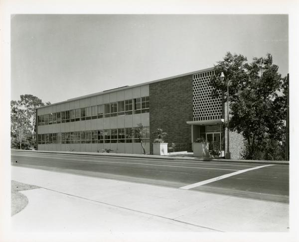 Street view of Botany Building