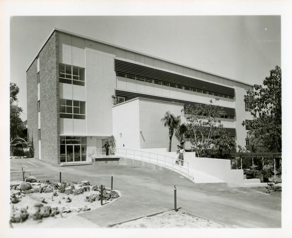 Exterior rear view of Botany Building