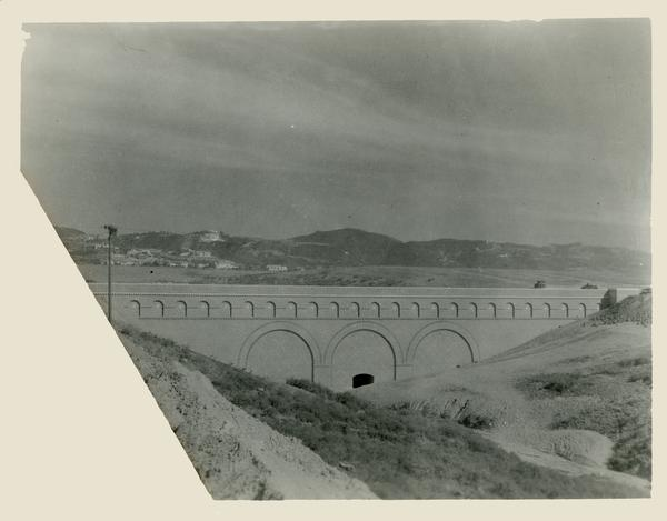 View of the Arroyo bridge