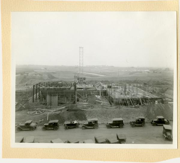 View of a construction site