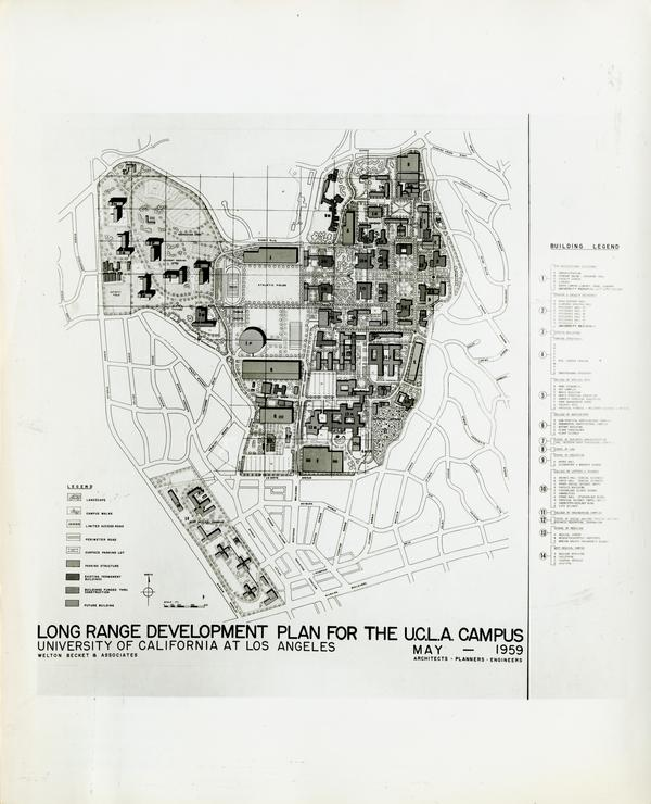 Long Range Development Plan for the U.C.L.A. Campus, May 1959