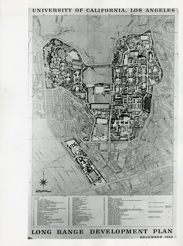 Long Range Development Plan for the U.C.L.A. Campus, December 1963