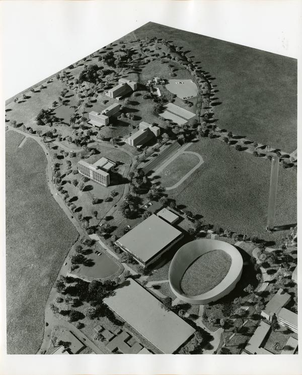 UCLA Memorial Stadium Architectural Model, September 1962