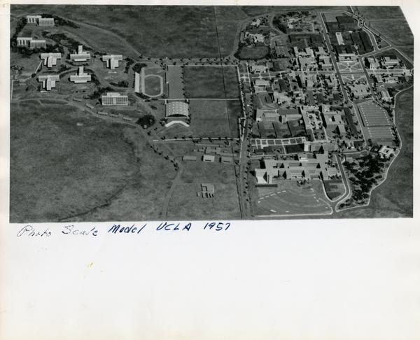 Photo Scale Model UCLA 1957