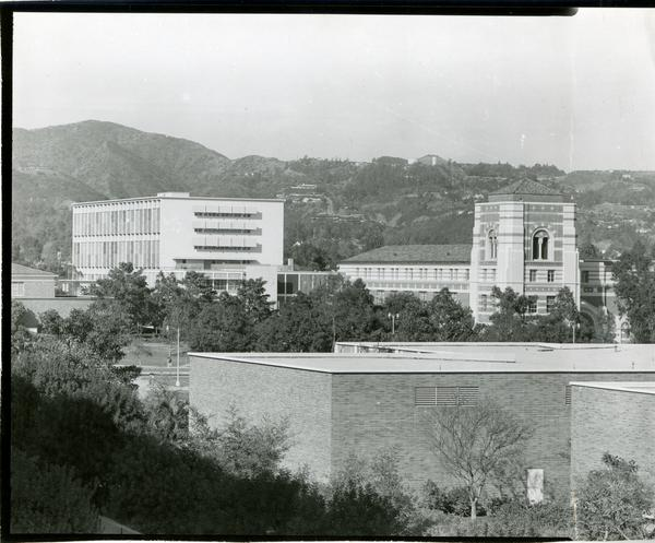 View of UCLA campus