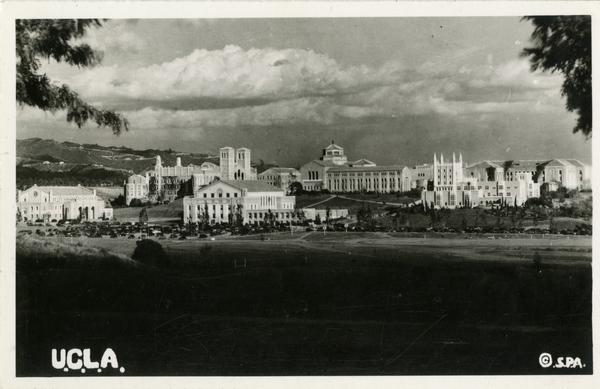 Postcard of Westwood campus