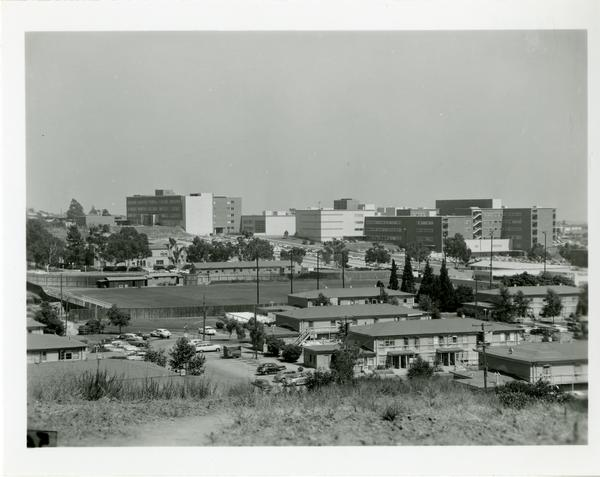 Distant view of campus