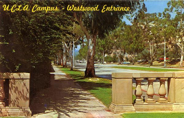 UCLA Campus - Westwood Entrance, ca. 1965
