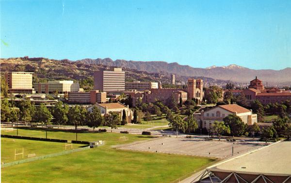 UCLA Campus postcard