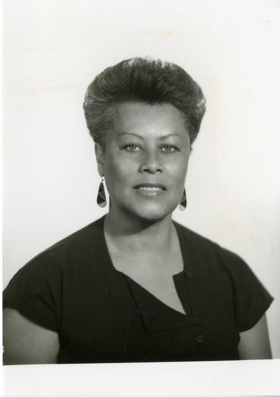 Portrait of Mary Jane Hewitt, ca. 1985