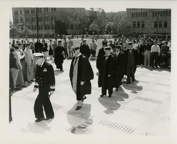 Procession on Charter Day, 1950