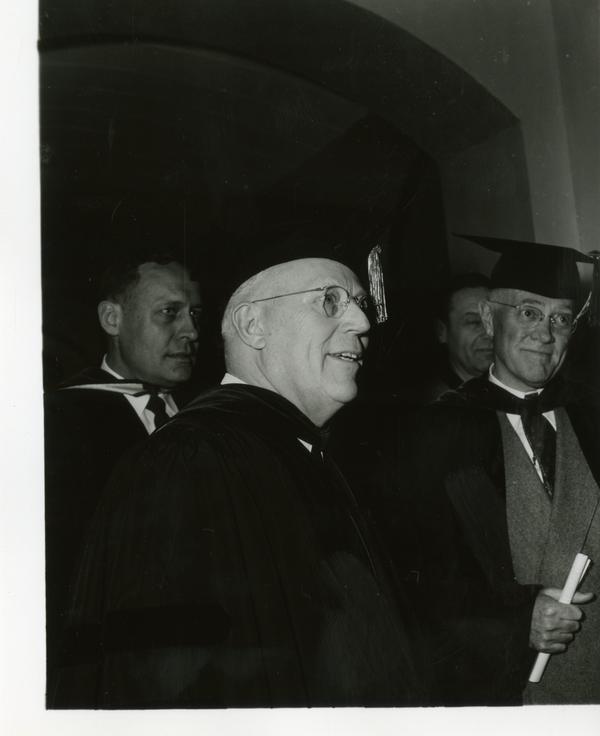 Earl Warren on Charter Day 1954