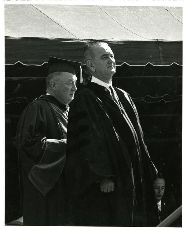 President Johnson, Charter Day 1964