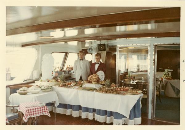 Food prepared for Emperor Haile Selassie's visit, 1967