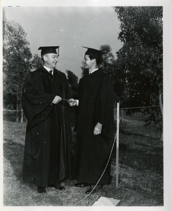 Graduate at Commencement, circa 1940's