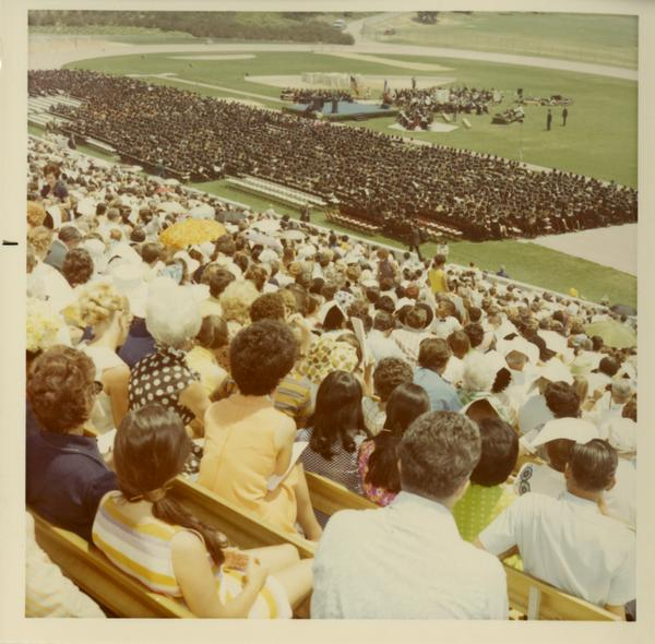 Crowds at Commencement, 1971
