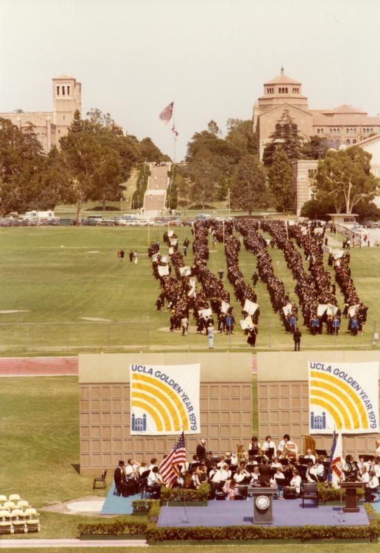 Academic procession for commencement, June 1979
