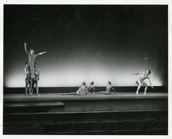 Scene from Theseus and Adrianade, 1959