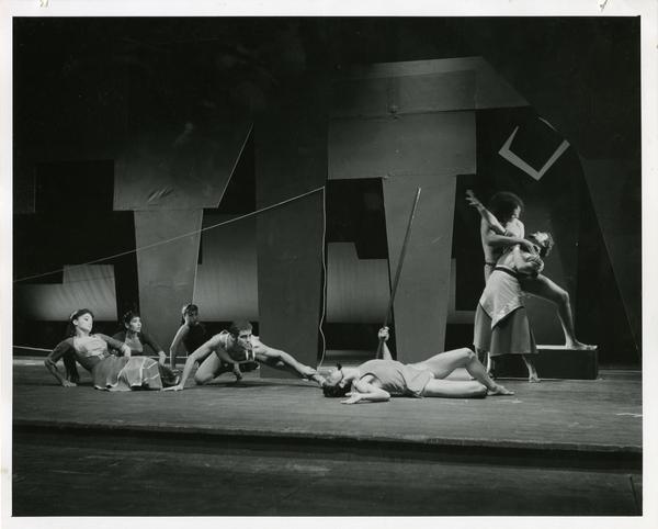 Scene from Theseus and Ariadne, 1959