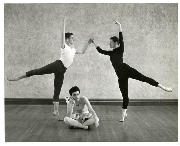 Dancers from the Modern Dance Concert, 1955