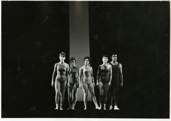 """Dancers in """"Lines,"""" 1963"""