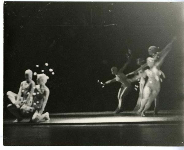 Dancers in a theatrical performance, ca. 1960's