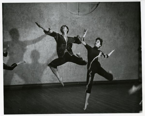 "Dancers performing ""Bridge of the Seventh Moon,"" 1960"