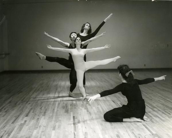 Dancers of the UCLA Dance Company, 1968