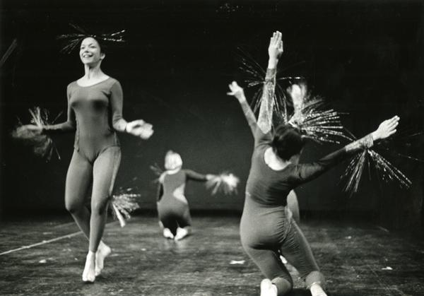 "Dancers performing ""Orders,"" ca. 1960's"