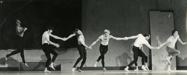 Dancers in Calligraph for Martyrs, ca. 1970's