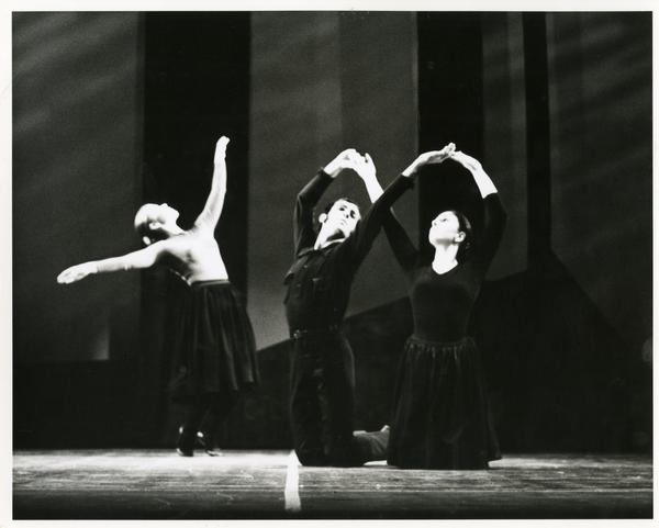 Dancers perfoming Missa Brevis, 1970